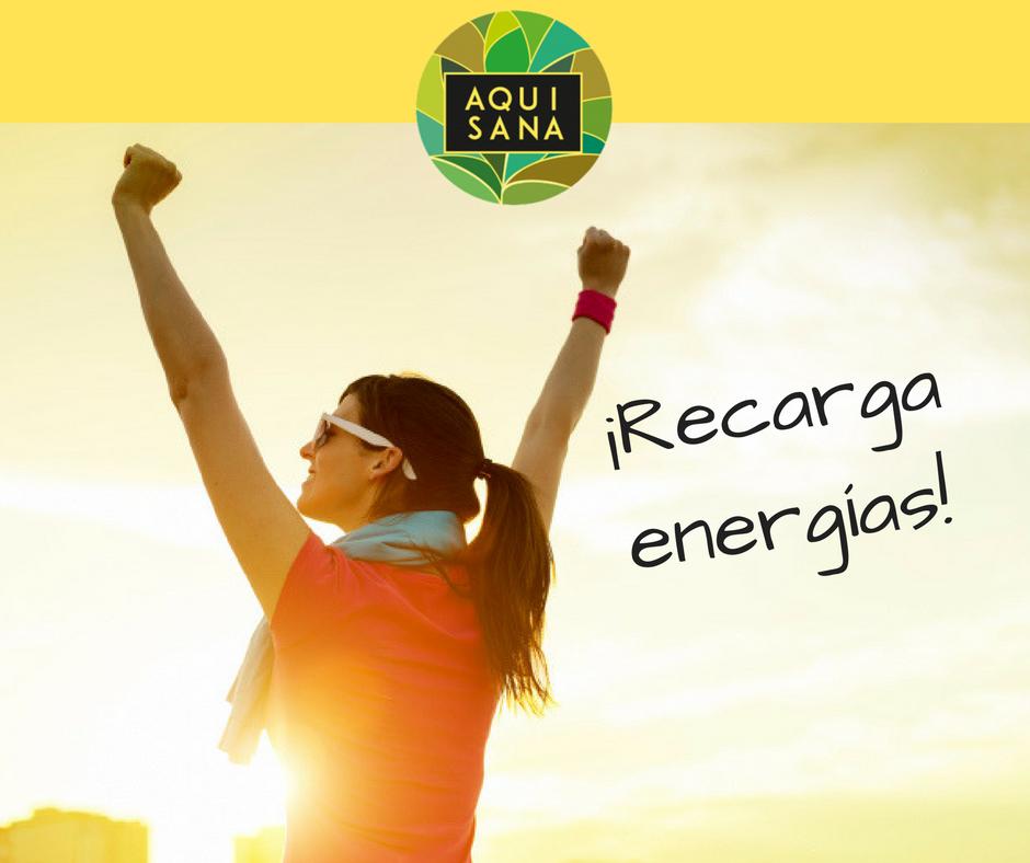 Consejos para reponer energías a diario.