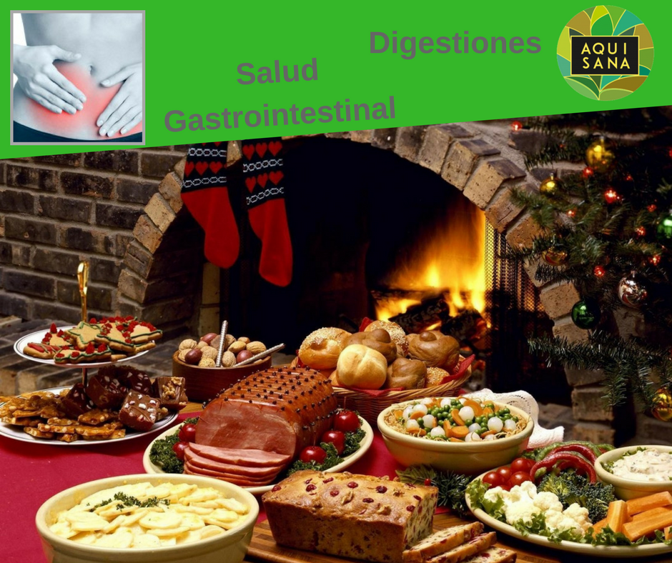 Salud Gastrointestinal en Navidades.